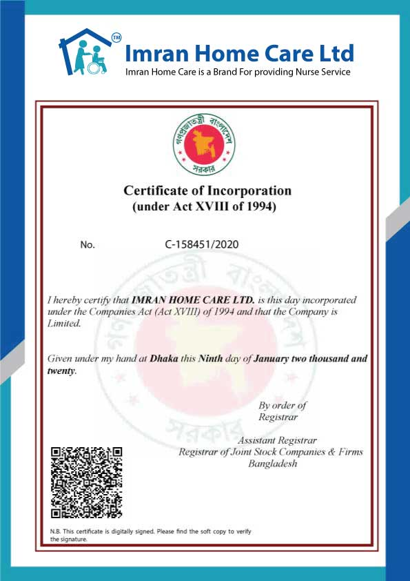 Incorporation Certificate in Bangladesh